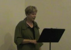 Susan Tichy reads at Counterpath