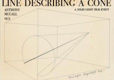 Line Describing a Cone (1973) by Anthony McCall, Friday, March 23, 8 p.m.