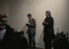 Launch Party for Brando, My Solitude with Arno Bertina and Laird Hunt, February 28, 2013
