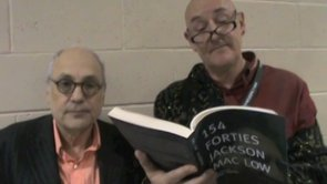 Forties 19, Charles Bernstein and Chris Cheek