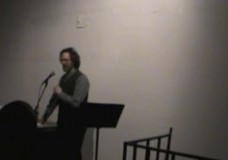 Peter O'Leary: Talk and Reading from Ronald Johnson's ARK: February 6, 2014