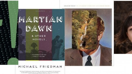 Nick Montfort, Michael Friedman, Graham Foust, and Sanaz Fatemi, at Dikeou Popup, Thursday, June 4, 2015, 7 p.m.