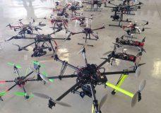 Drone Exhibit at City Park Jazz, Sunday, July 24