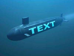 SubmarineText