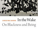 Featured Book for June: In the Wake: On Blackness and Being, by Christina Sharpe (Duke UP, 2016)
