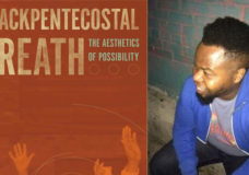 Ashon Crawley, with Jennifer Scappettone and Sasha Steensen, Saturday, April 21, 5pm