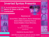 CANCELLED: Inverted Syntax Feature, Friday, March 13, 2020