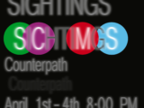 CANCELLED: Unseen Sightings: April 1 through April 4, 2020