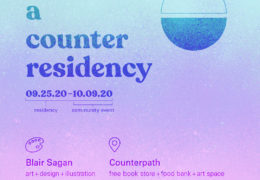 Blair Sagan: A Counter Residency, September 25–October 9, 2020